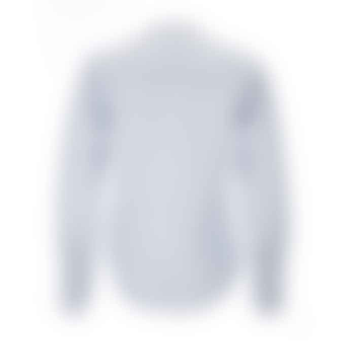 Archie Foal Kari Shirt in Blue/Ecru