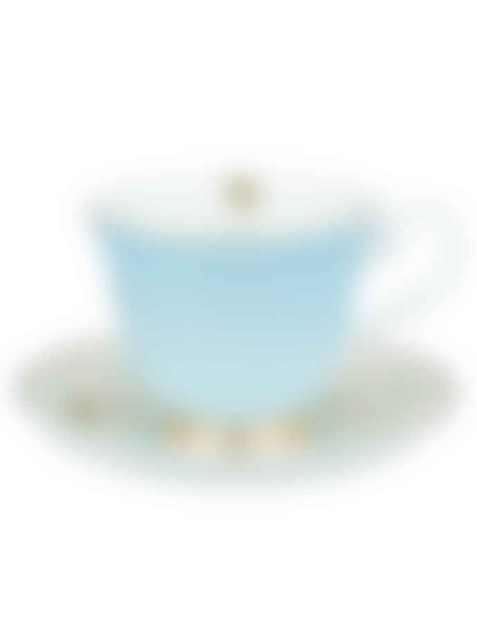 Yvonne Ellen Zebra Teacup and Saucer
