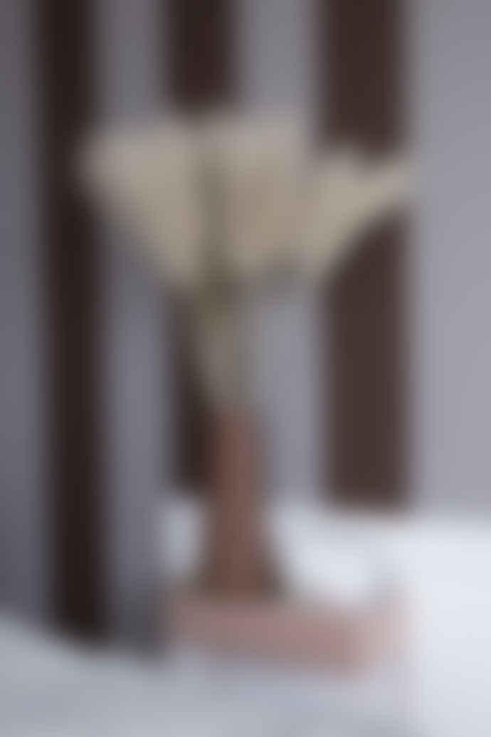 Ferm Living Rust Stoneware Dual Floor Vase