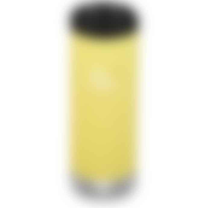 Klean Kanteen Tkwide 16 Oz W Cafe Cap Buttercup