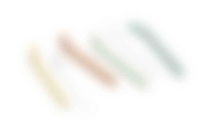 HAY Sip Glass Straws Set of 6
