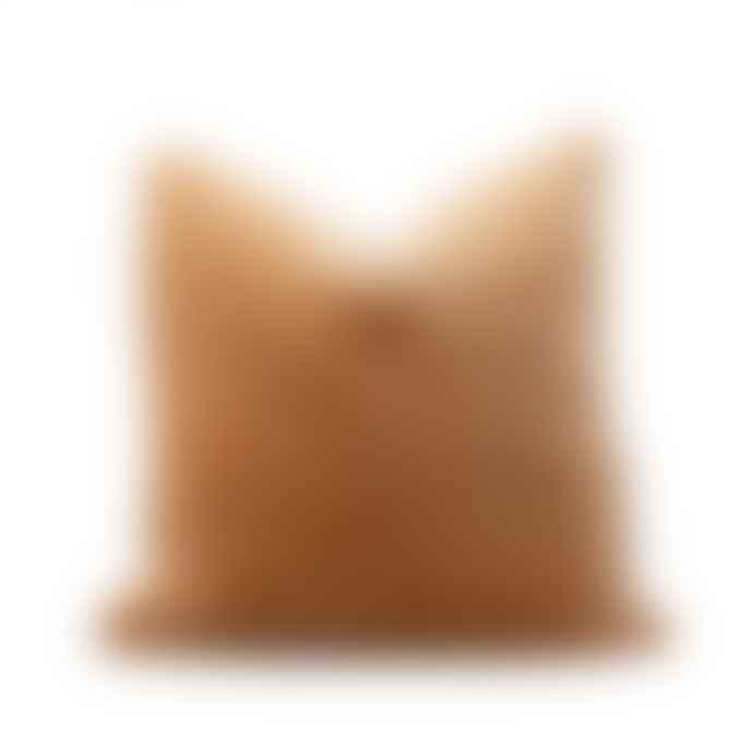 Also Home Unari Camel Velvet Cushion 50 X 50