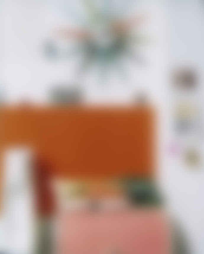 Vitra Multicolor Wood Sunburst Wall Clock