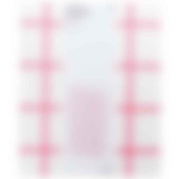 Paper Poetry X Large Block Bottom Bag Pink Check
