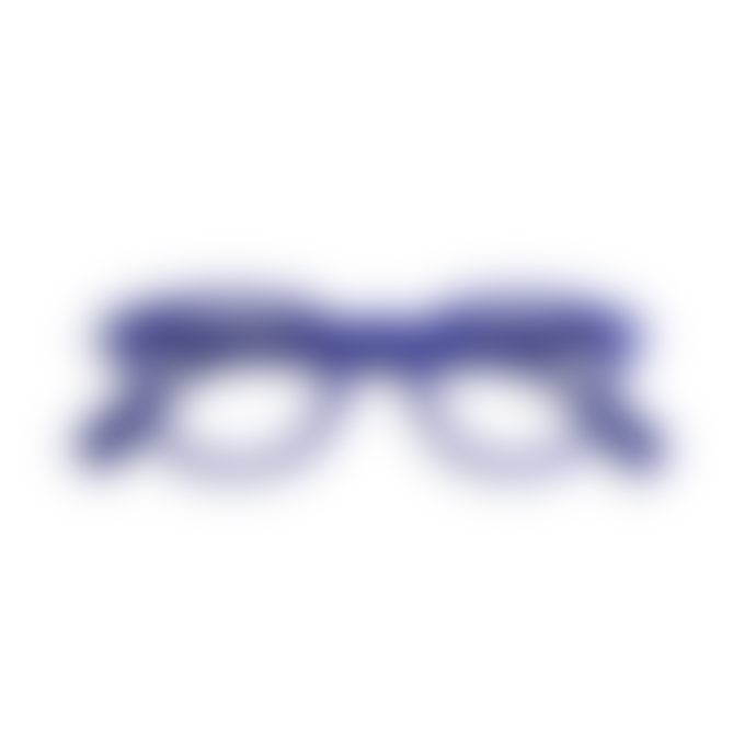 IZIPIZI Reading Glasses in Navy Blue (Frame Shape: #C)