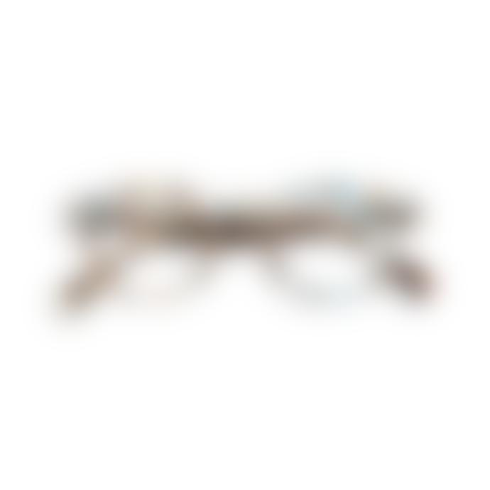 IZIPIZI Reading Glasses in Blue Tortoise (Frame Shape: #C)