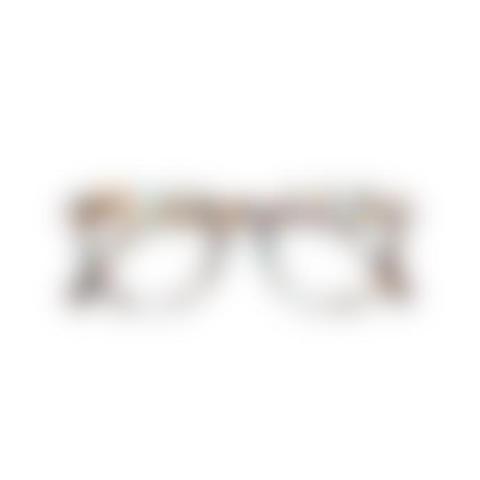 IZIPIZI Reading Glasses in Blue Tortoise (Frame Shape: #E)