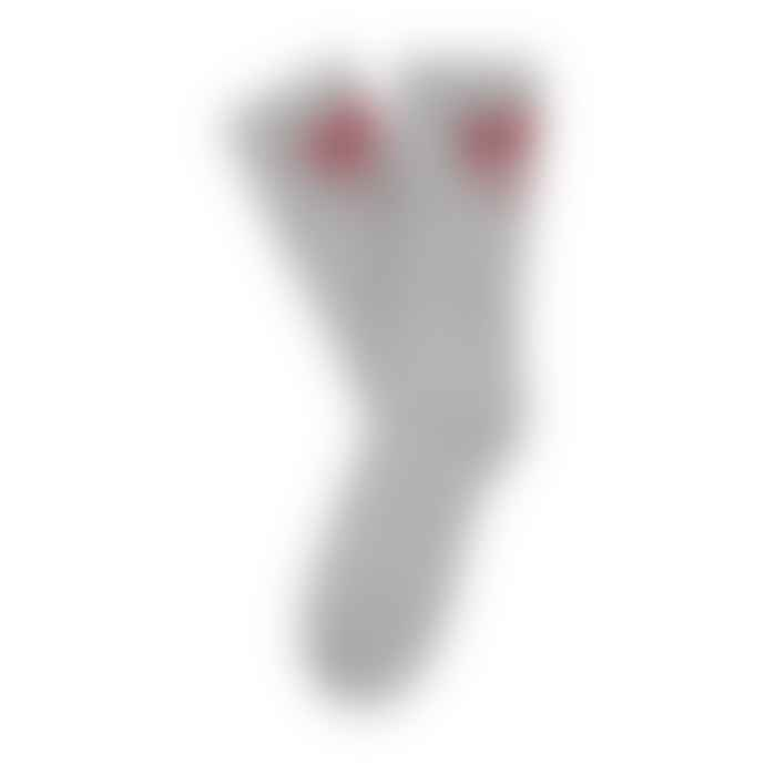 Deus Ex Machina Curvy Sock - Grey Marl