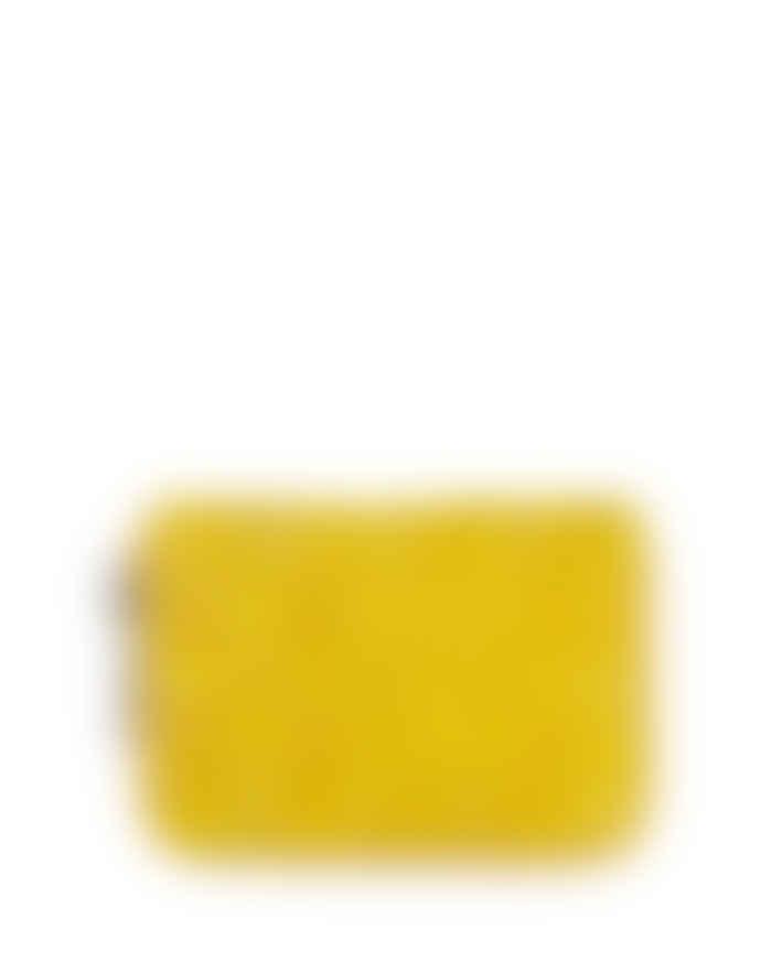 Becksondergaard yellow eel skin wallet