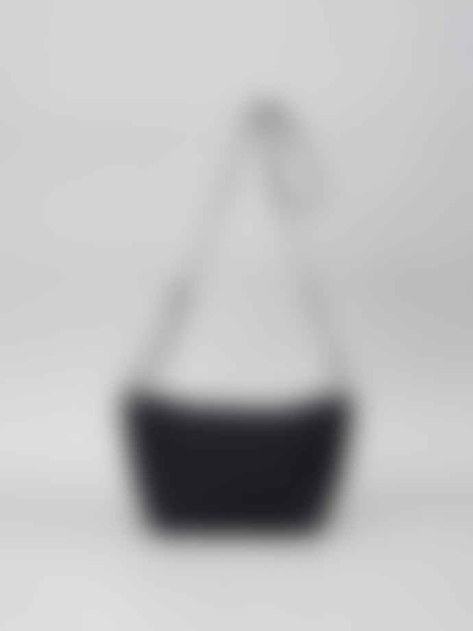 Mimi Berry Black Fides Crossbody Canvas Bag