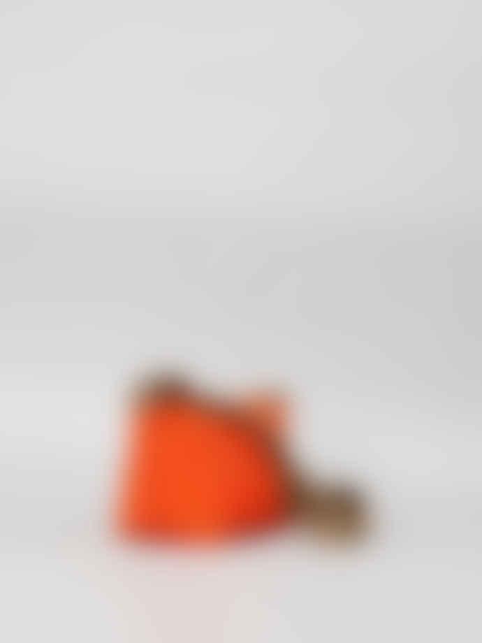 Mimi Berry Orange Fides Crossbody Canvas Bag