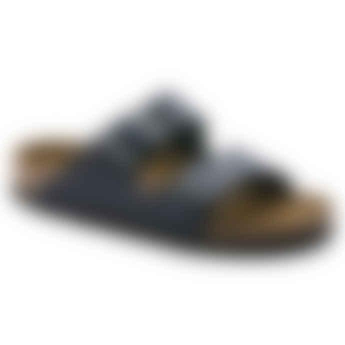 Birkenstock Blue Arizona Oiled Nubuck Leather Sandal