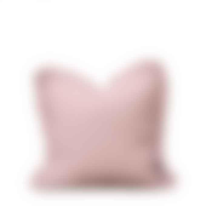 Also Home Oli Ruffle Cushion in Blush