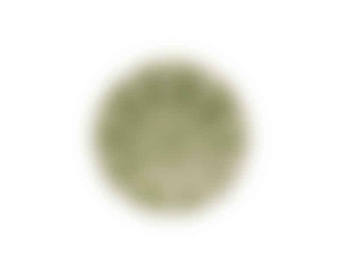 Bordallo Pinheiro 20cm Green Earthenware Melon Plate