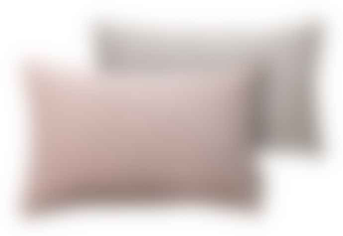 Cozy Living 30 cm x 50 cm Powder Pink Velvet Cushion