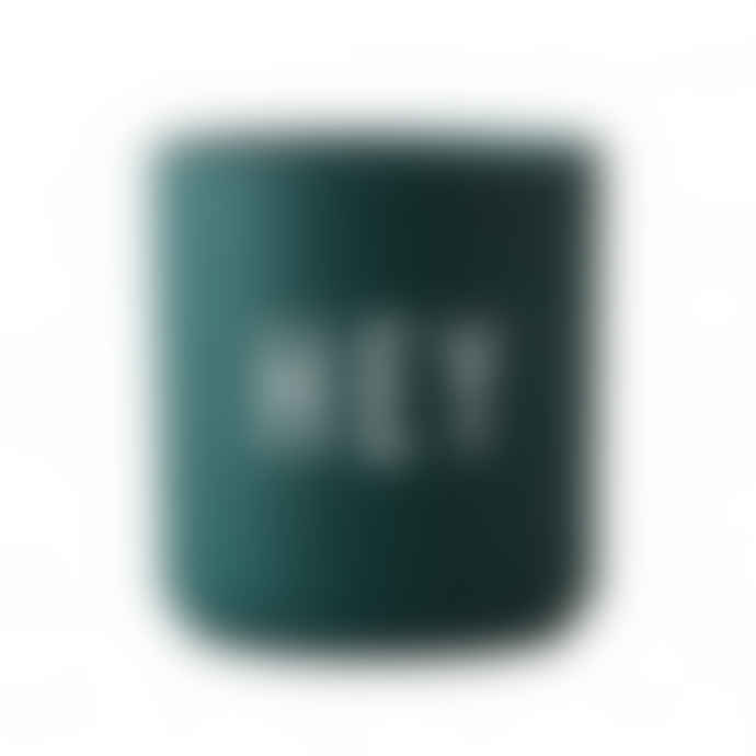 Design Letters Dark green HEY Cup