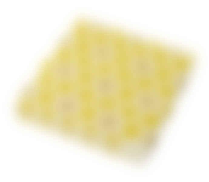 Parlane Yellow/ White Miel Paper napkins
