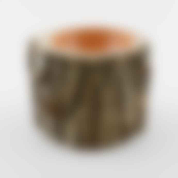 Loyal Loot Collective Log Bowl Warm Coral