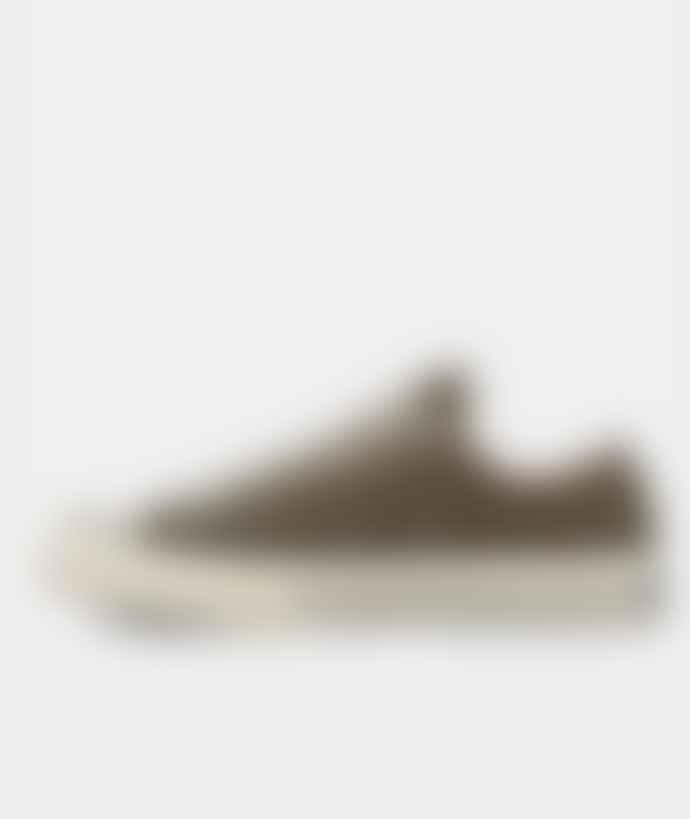 Converse Hunter Green White Canvas Chuck 70 OX Shoes