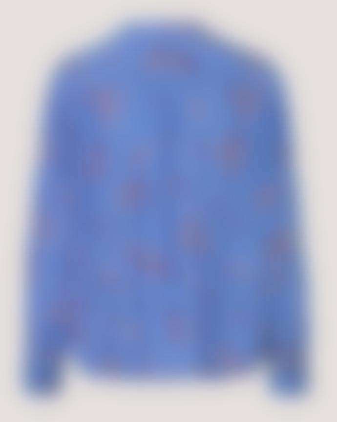 SamsoeSamsoe Samsoe Samsoe Elmy Shirt Blue Breeze