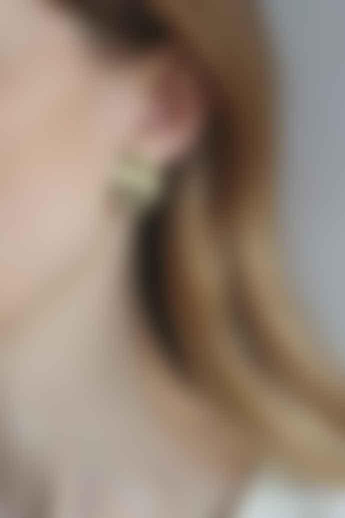Tutti & Co Ea 297 G Gold Water Earring