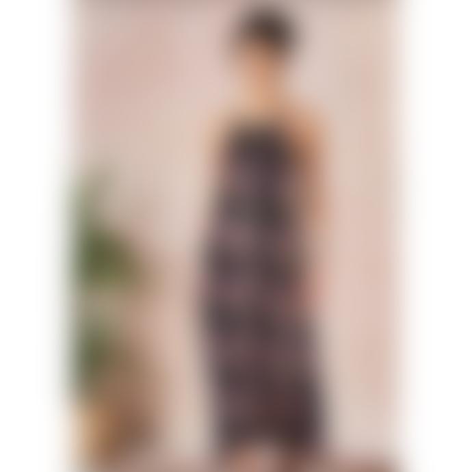 Star Mela Floral Pati Print Maxi Dress