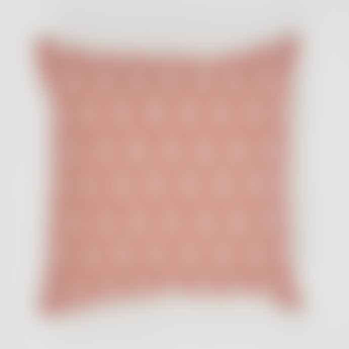 Weaver Green Jaipur Acorn Coral Indoor / Outdoor Cushion