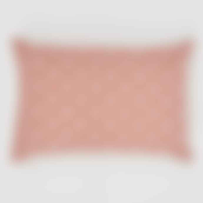 Weaver Green Jaipur Marigold Coral Indoor / Outdoor Cushion