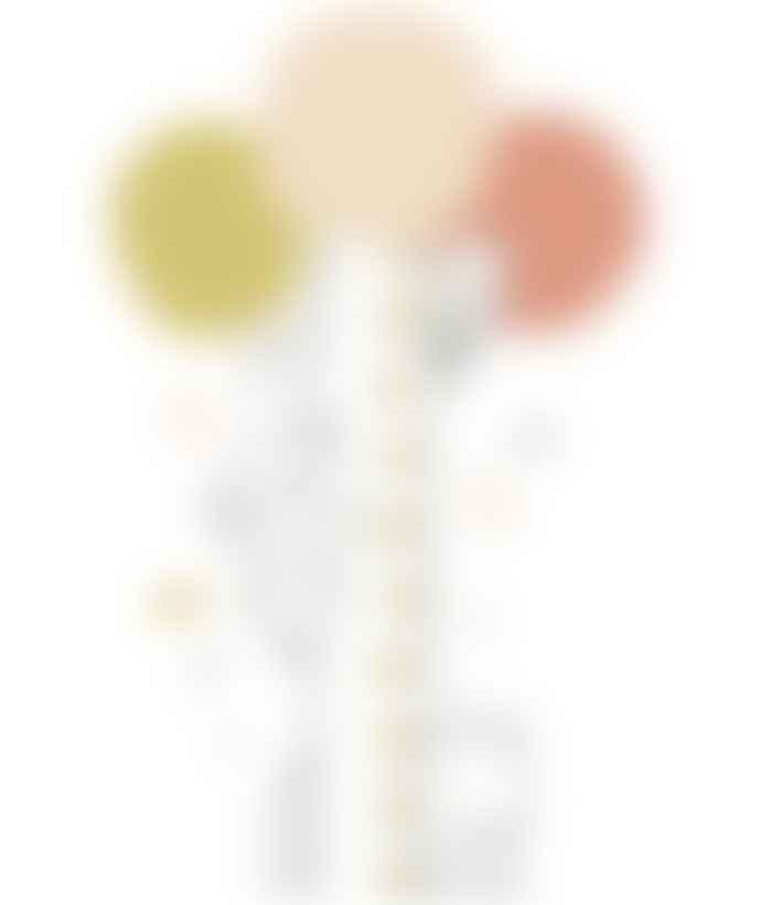 LILIPINSO White Matte Vinyl Coral Koala Tree Child Meter Wall Sticker