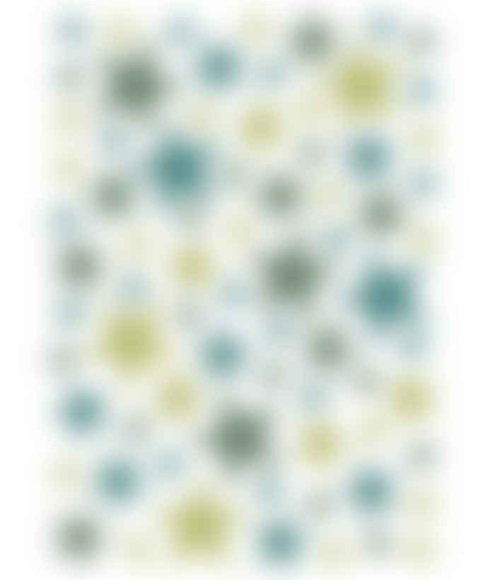 LILIPINSO A3 White Matte Vinyl Tropical Mix Stars Wall Sticker
