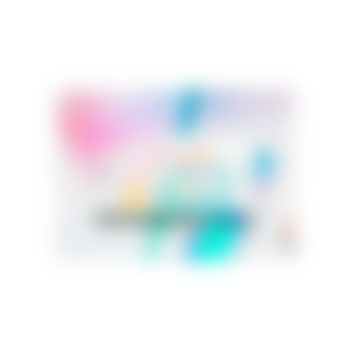 "IZIPIZI Screen Protection Glasses in ""Flash Lights"" Multi-Coloured Frame (Frame Shape: #D)"
