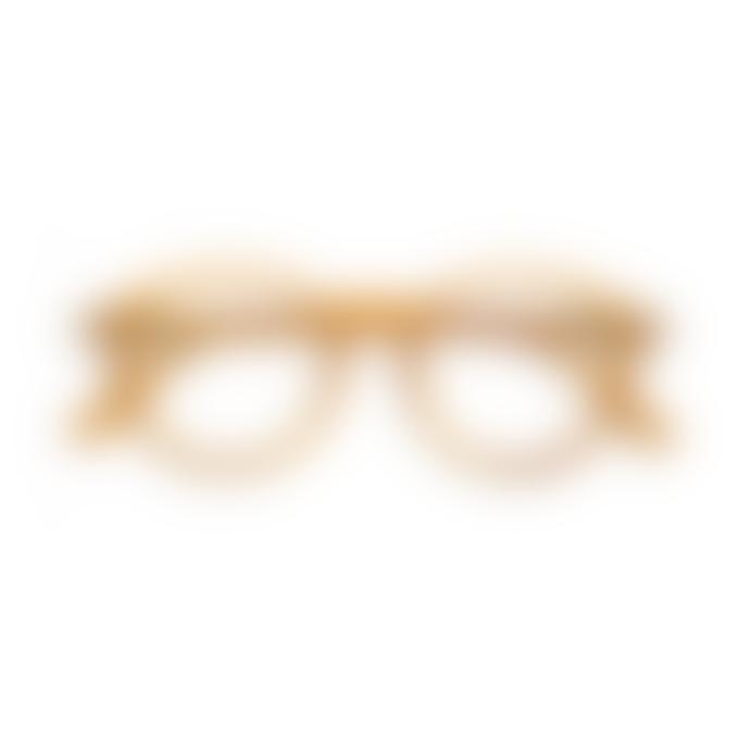 IZIPIZI Screen Protection Glasses in Yellow Ochre (Frame Shape: #D)