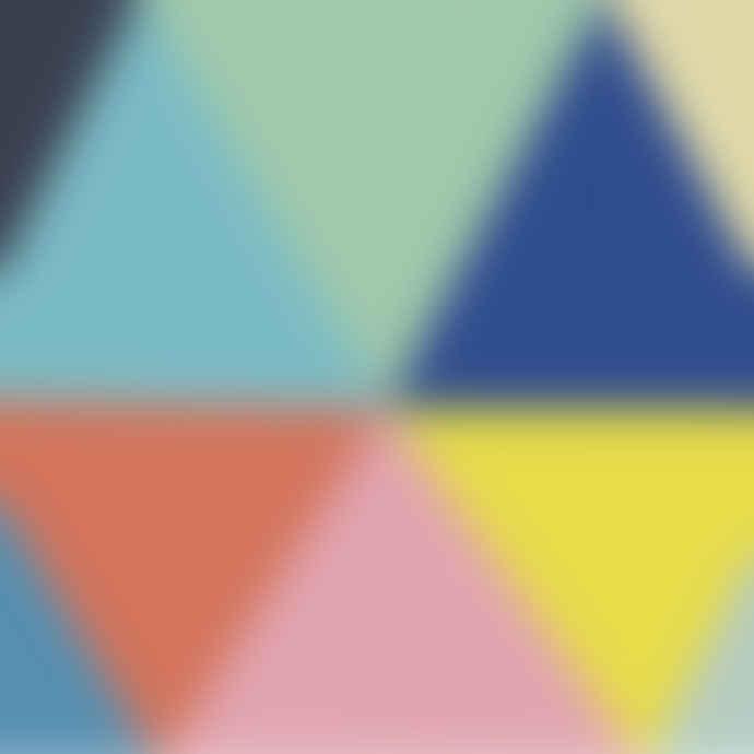 LILIPINSO Vinyl Triangles Border Sticker