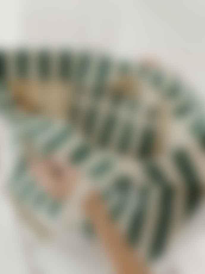Baggu Large Canvas Weekend Bag - Palm Stripe