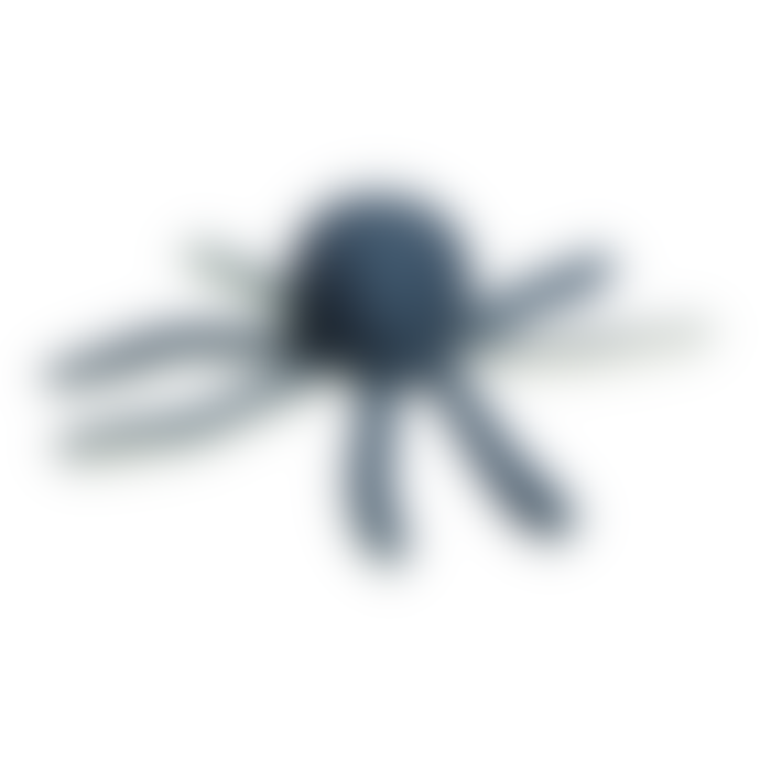 FABELAB Soft Organic Cotton Octopus Rattle