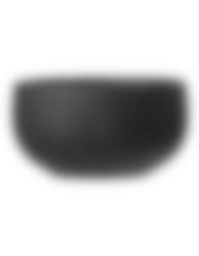 Bloomingville Ribbed Black Neri Bowl