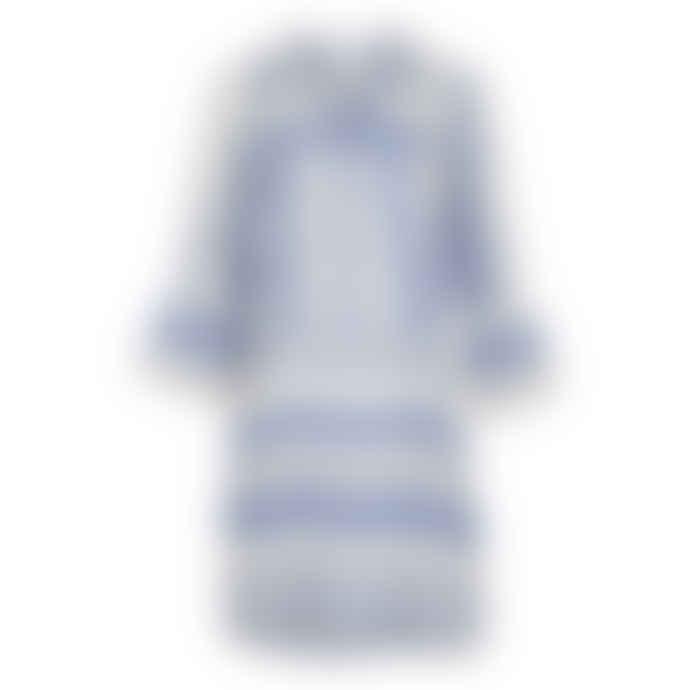 Neo Noir 151189 GUNVOR SHORT BLUE AZTEK DRESS NEO NOIR 13465501