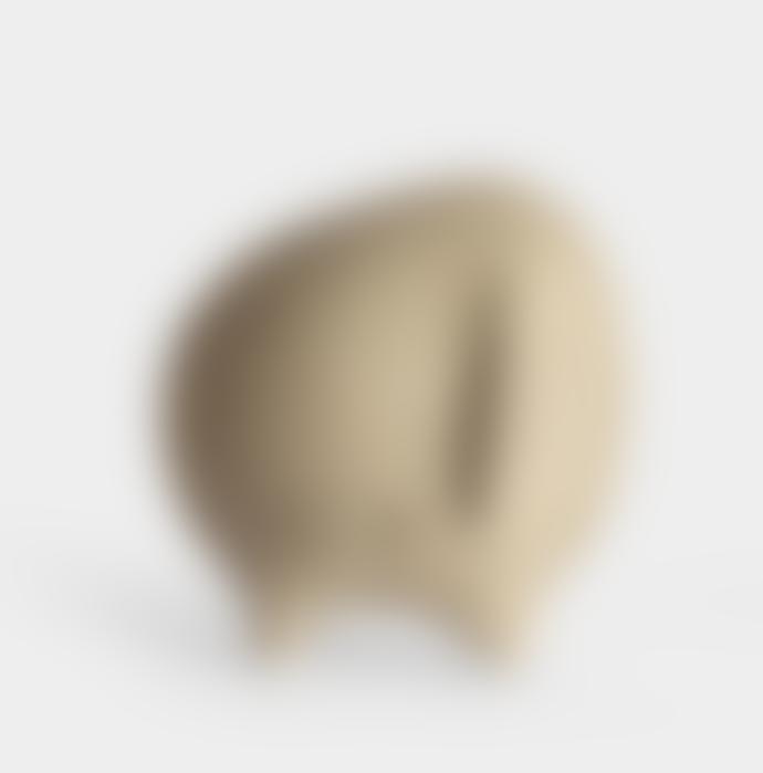 Hadaki Brown Stoneware Gordon Figurine Salt Shaker