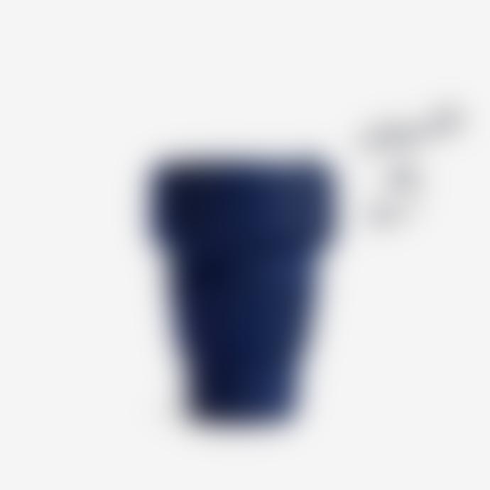 Stojo Stojo Collapsible Cup Travel Mug 12 Oz In Navy Denim