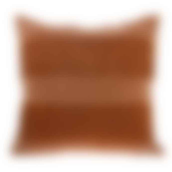home Velvet Fringe Cushion