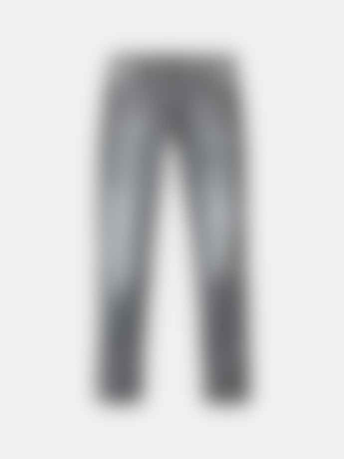 Nudie Jeans Grey Cotton Easy Skinny Lin Jeans