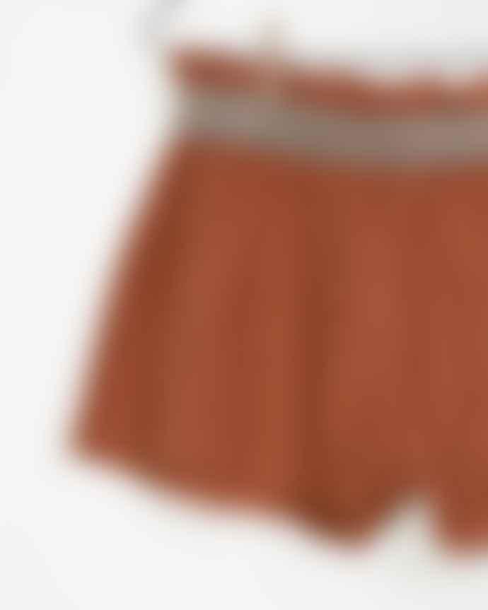 Play Up Brick Organic Cotton Terry Girls Shorts
