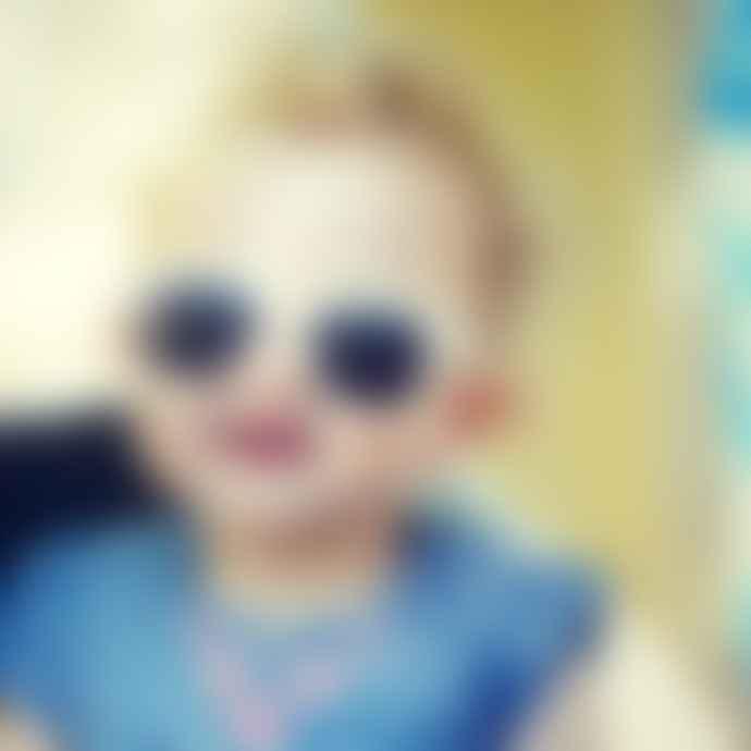 Roshambo Baby Baby White Sunnies (0-2 years)