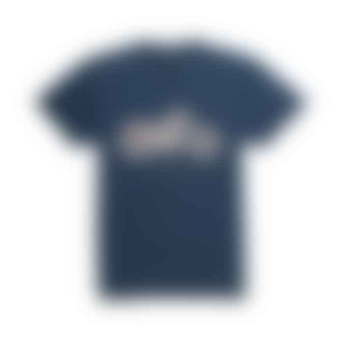Deus Ex Machina Navy Cotton The Kr T Shirt