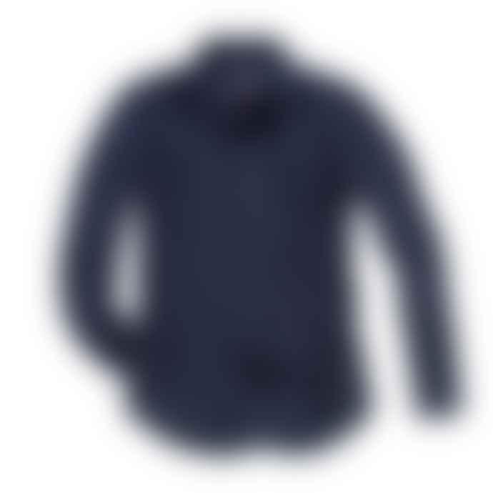 Blue de Genes Navy 8 Campi Aircel Shirt
