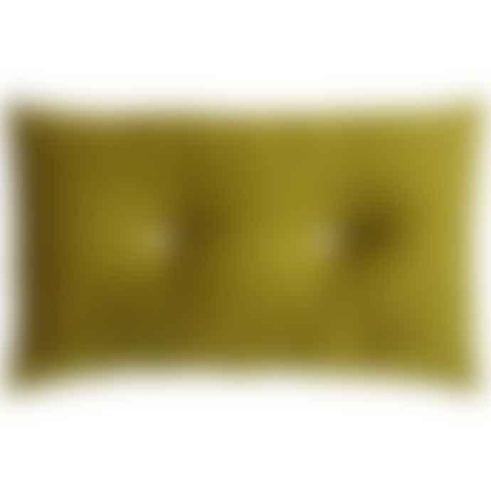 RH 30 X 50 Cm Velvet Cushion Olive