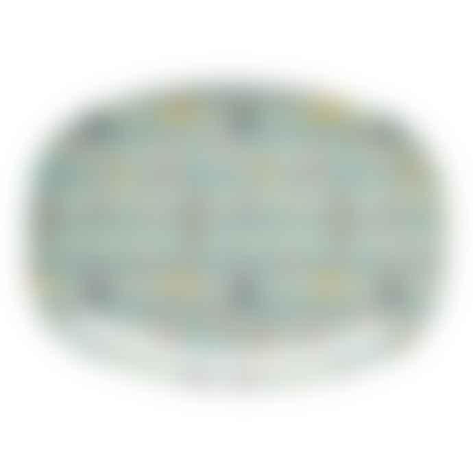 Rice D K  Melamine Swimmers Rectangular Plate