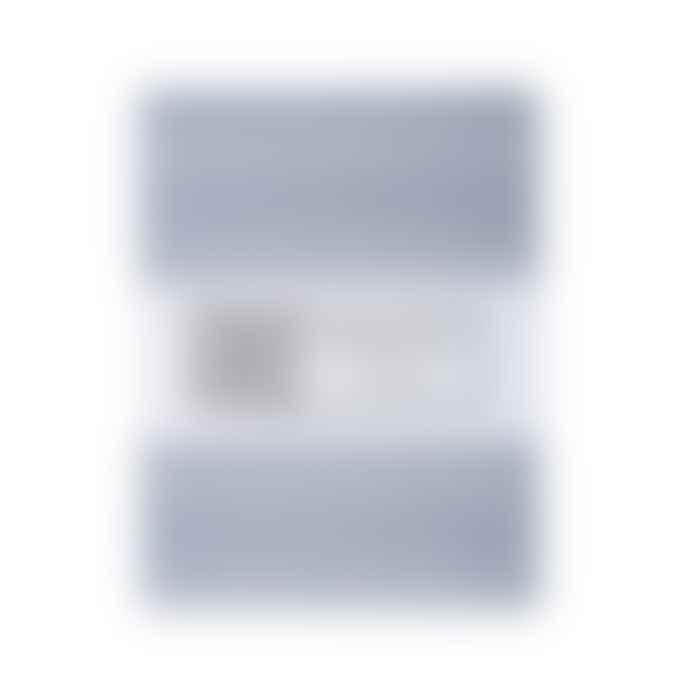 Swedish Linens Tranquil Grey Cotton Lindbacken Fitted Standard Eu Toddler Bed Sheet