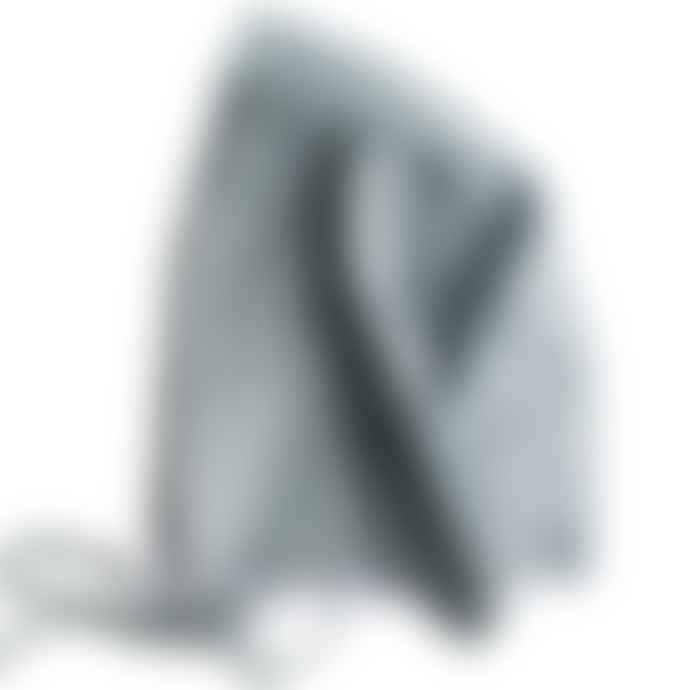 Alimrose Grey Linen Bunny Bonnet
