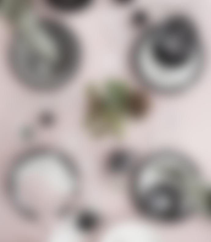 Broste Copenhagen Set of 6 Cream Coated Brass Napkin Holder Rings